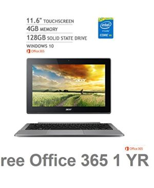 2016-Newest-Acer-Aspire-Switch-11-V-Touchscreen-2-in-1-LaptopIntel-Core-M-5Y10c4GB-RAM-128GB-SSD-Windows-10-Office-365-Personal-1-year-0
