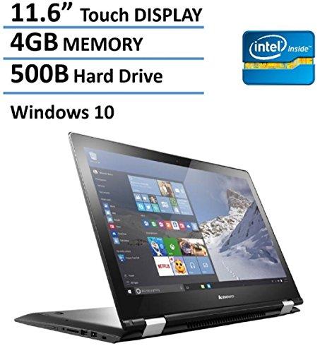 2016-Newest-Lenovo-Flex-2-in-1-116-Premium-Touchscreen-Convertible-Laptop-Tablet-Intel-Dual-Core-N3050-Processor-4GB-DDR3-500GB-HDD-HDMI-80211AC-Wifi-Windows-10-0
