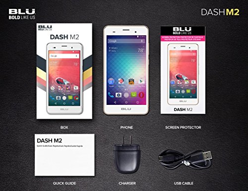 BLU-Dash-M2-D090U-Android-60-3G-HSPA-50-HD-4GB-Internal-Memory-5MP-Camera-Selfie-2MP-Cam-QuadCore-Processor-Factory-Unlocked-GSM-Phone-0-4