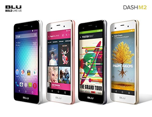 BLU-Dash-M2-D090U-Android-60-3G-HSPA-50-HD-4GB-Internal-Memory-5MP-Camera-Selfie-2MP-Cam-QuadCore-Processor-Factory-Unlocked-GSM-Phone-0