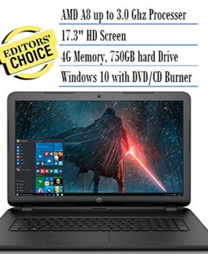 HP-173-Inch-Notebook-Laptop-AMD-Processor-up-to-32GHz-8GB-RAM-500gb-Hard-Drive-0