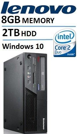 Lenovo-ThinkCentre-M58-Desktop-with-Intel-Core2-Duo-30-GHz-Processor-8GB-RAM-2TB-Hard-Drive-DVDRW-Windows-10-Pro-Certified-Refurbished-0