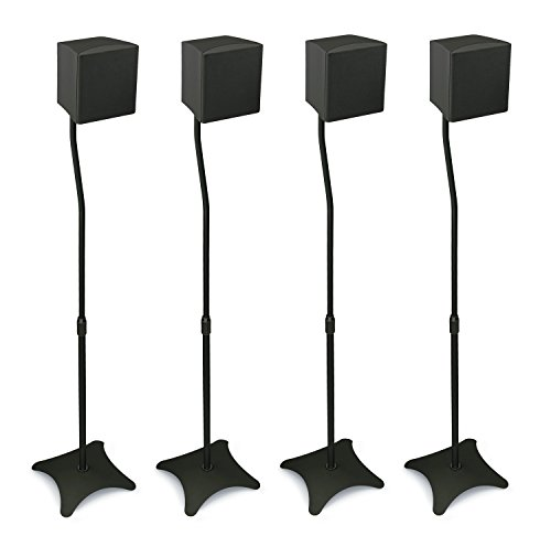 Mount It Mi 1214 Speaker Stands For Home Theater 5 1