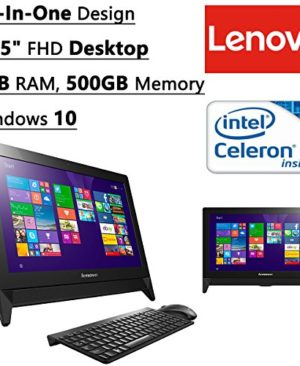 Newest-Lenovo-All-In-One-Flagship-High-Performance-195-Full-HD-1920-x-1080-Desktop-PC-Intel-Celeron-N3050-Dual-Core-Processor-16-GHz-4GB-RAM-500GB-Hard-Drive-WIFI-Bluetooth-Windows-10-0