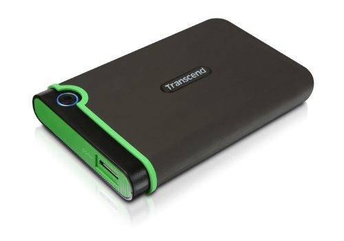 Transcend 1 TB StoreJet M3 Military Drop Tested USB 3 0 External Hard Drive  (TS1TSJ25M3)