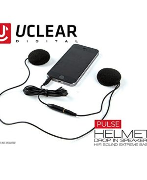 UCLEAR-Digital-Pulse-Wired-Drop-In-High-Definition-Helmet-Speakers-Compatible-with-iPhone-and-Android-OS-0